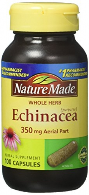 ihocon: Nature Made Echinacea 350 mg Capsules 100 Ct 紫錐花膠囊100克拉