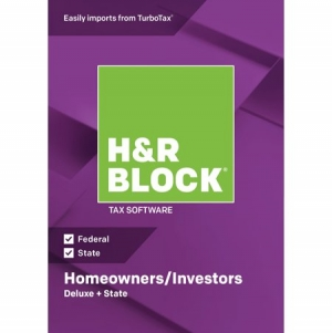 ihocon: H&R Block Tax Software 2018 Deluxe + State Win (Email Delivery)報稅軟體
