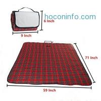 ihocon: Kapoo Waterproof Picnic Mat,71x59 防水野餐地墊