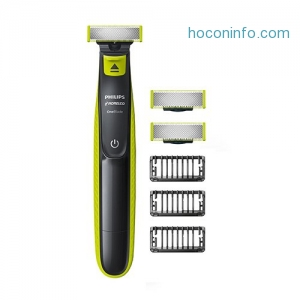 ihocon: Philips Norelco OneBlade and 2 Pack Replacement Heads 刮鬍刀