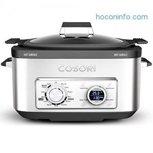 ihocon: COSORI 6 Qt 11-in-1 Programmable Multi Cooker 可自訂程序多功能慢燉鍋