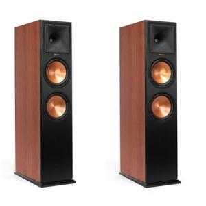 ihocon: 2 Pack Klipsch RP-280FA Reference Premiere Atmos Floorstanding Speaker (Cherry Vinyl)