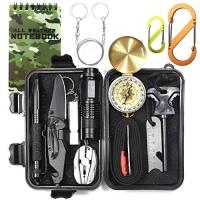 ihocon: EILIKS Emergency Survival Gear Kits 14 in 1 緊急求生工具