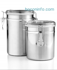 ihocon: Martha Stewart Essentials Set of 2 Food Storage Canisters