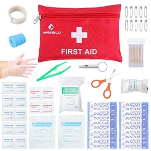 ihocon: First Aid Kit Medical Survival Bag(46 Piece)隨身急救包