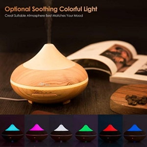 ihocon: Aromatherapy Essential Oil Diffuser 4-IN-1 Cool Mist Ultrasonic 200ML with 7 Colors LED Lights超音波精油擴香機