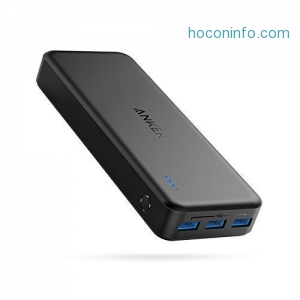 ihocon: Anker 3-Port 20000mah Fast Recharging Power Bank快速充電行動電源/充電寶