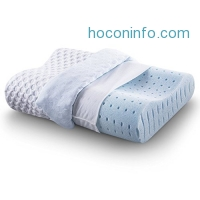 ihocon: Comfort & Relax Ventilated Memory Foam Contour Pillow with AirCell Technology透氣記憶棉枕頭