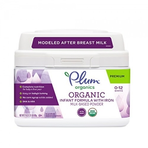 ihocon: Plum Organics, Organic Infant Formula with Iron, 21 ounce 有機嬰兒奶粉