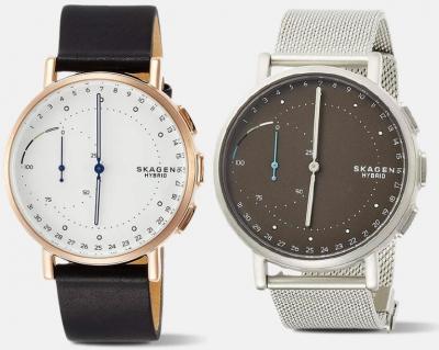 ihocon: Skagen Signatur Hybrid Quartz Smartwatch 智能錶-3色可選