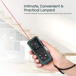 ihocon: InLife 197FT/ 60M Digital Laser Distance Meter Measuring Device雷射/激光測量儀(可測距離, 面積, 體積)