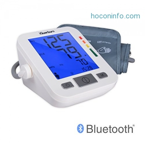 ihocon: iGuerburn Bluetooth Blood Pressure Monitor System w/ Audible & LCD Readout 血壓計
