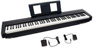 [新低價] Yamaha 88鍵電鋼琴, 含延音踏板 $329免運(原價$349)