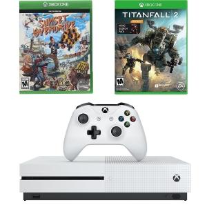 ihocon: Microsoft Xbox One S Console 1TB w/ Titanfall 2 + Nitro Pack DLC & Sunset Overdrive