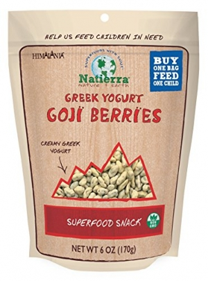 ihocon: Natierra Himalania Yogurt Covered Goji Berries, 6 Ounce  優格/酸奶包枸杞