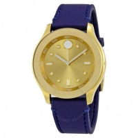 ihocon: Movoda Blue Silicone Ladies Watch Item No. 3600413摩凡陀女錶