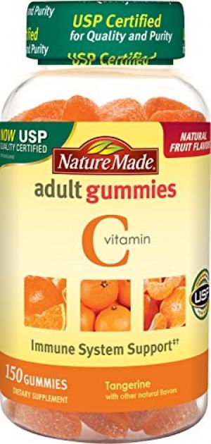 ihocon: Nature Made Vitamin C Adult Gummies 150 Ct 成人維他命C軟糖