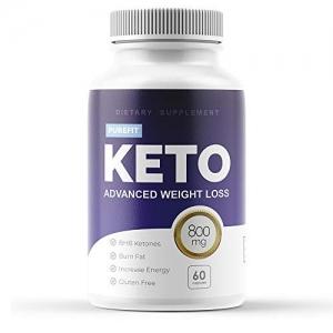 ihocon: Purefit Keto Weight Loss Pills for Men and Women - Ketogenic Diet Supplement - Burn Fat for Energy生酮飲食補充劑, 60粒