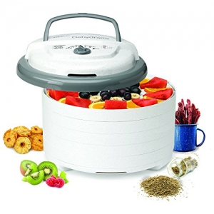 ihocon: [美國製] Nesco FD-75A Snackmaster Pro Food Dehydrator, White - MADE IN USA  5層食物乾燥機