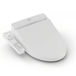 ihocon: TOTO SW2014#01 A100 WASHLET Electronic Bidet Toilet Seat with SoftClose Lid, Elongated, 免治沖水馬桶座