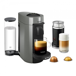 ihocon: Nespresso VertuoPlus Coffee and Espresso Maker Bundle with Aeroccino Milk Frother by De'Longhi