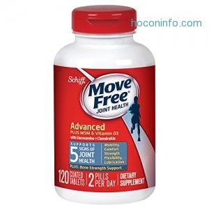 ihocon: Move Free Advanced Plus MSM and Vitamin D3, 120 tablets