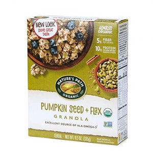 ihocon: Nature's Path Pumpkin Seed + Flax Granola, Healthy, Organic & Gluten Free, 11.5 Ounce box (Pack of 12)