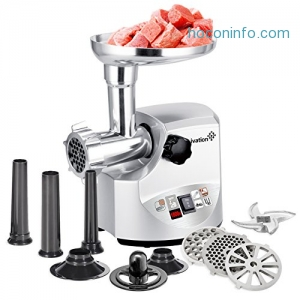 ihocon: Ivation 1800 Watt Electric Meat Grinder Mincer, Sausage Maker 電動紋肉, 灌香腸機