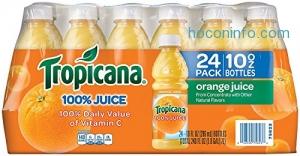 ihocon: Tropicana Orange Juice, 10 Ounce (Pack of 24)