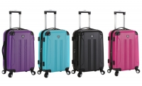 ihocon: Traveler's Club 20 Hardside Spinner Expandable Carry-On Luggage - 多色可選