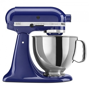 ihocon: KitchenAid KSM150PSBU Artisan Series 5-Qt. Stand Mixer with Pouring Shield - Cobalt Blue攪拌機