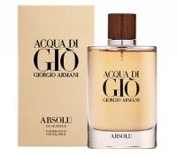 Giorgio Armani Acqua di Gio Absolu 4.2 oz. 男士香水 $83.96免運(原價$135)