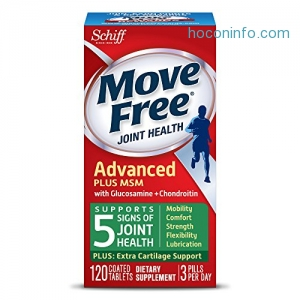 ihocon: Move Free Advanced Plus MSM, 120 tablets - Joint Health Supplement with Glucosamine and Chondroitin