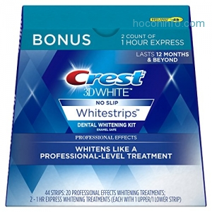 ihocon: Crest 3D Whitening Strips Kit 牙齒美白貼片 22 Treatments
