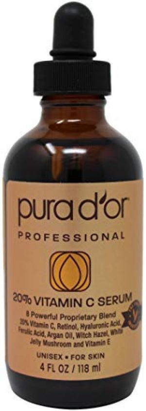 PURA D'OR 維他命C/玻尿酸/摩洛哥堅果油 精華液 $9.20(原價$14.95)