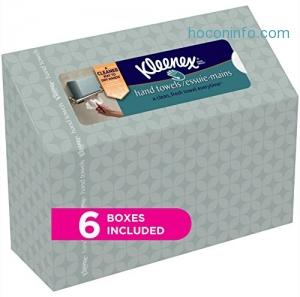 ihocon: Kleenex Hand Towels 擦手巾 6盒