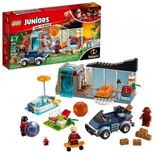 ihocon: LEGO Juniors/4+ The Incredibles 2 The Great Home Escape 10761 Building Kit (178 Piece)