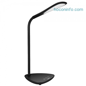 ihocon: GOOLOO Dimmable LED Desk Lamp光線微調護眼桌燈