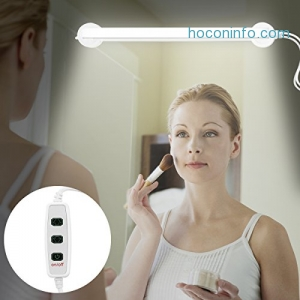 ihocon: LED Vanity Mirror Light, 360 Degree Rotation, USB Powered浴室梳妝鏡照明燈
