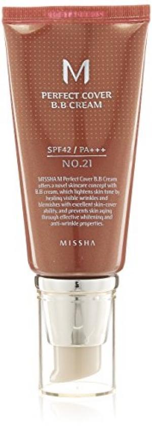 ihocon: M Perfect Cover BB Cream SPF 42 PA+++ #21 Light Beige