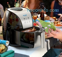 ihocon: HOLSEM Air Fryer with Rapid Air Circulation System , 3.4 QT 氣炸鍋
