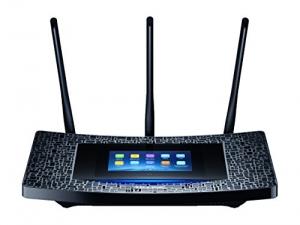 ihocon: TP-Link AC1900 Desktop Wi-Fi Range Extender w/ Touchscreen Interface (RE590T) - 觸控螢幕訊號增強器