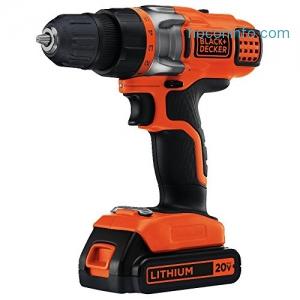 ihocon: Black & Decker LDX220C 20V MAX Lithium 2 Speed Drill/Driver