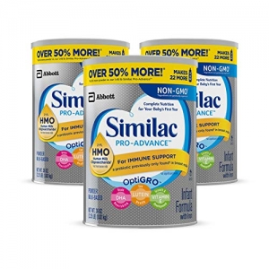 ihocon: Similac Pro-Advance Non-GMO Infant Formula with Iron, 36 oz, 3 Coun嬰兒奶粉 3罐