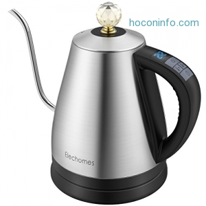 ihocon: Elechomes Electric Gooseneck Kettle, 12 Settings Variable Temperature Control電熱水瓶