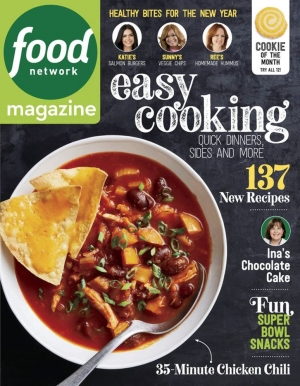 Food Network Magazine 一年10期 $7.95免運