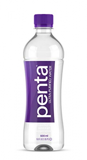 ihocon: Penta 100% Ultra Purified Bottled Water, Natural pH Hydration, (13 Step Purification Process), 16.9 Fl. Oz (Pack of 24)  超純淨瓶裝水