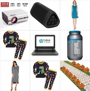 [Amazon今日特賣一覽] 家庭劇院投影機, Isopure蛋白粉, 藍芽Speaker, 女裝, 童裝及庭園萬聖節裝飾一日特賣