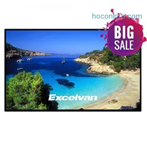 ihocon: Excelvan Indoor Outdoor Movie Screen 120 Inch 16:9 家庭劇院投影螢幕