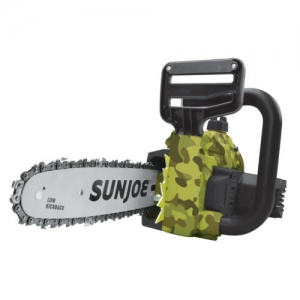 ihocon: Sun Joe 20V Lithium Ion Chainsaw 20-Volt | 10-Inch | Camo w/Battery + Charger 無線電鋸